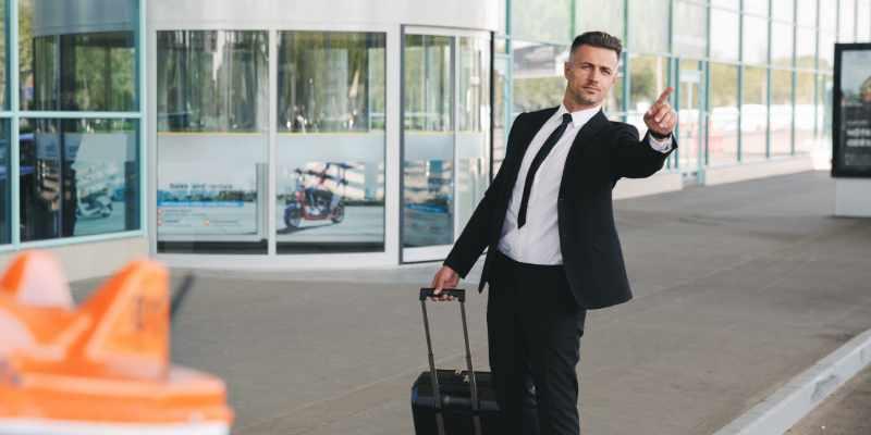 El taxi, actor clave en los viajes corporativos