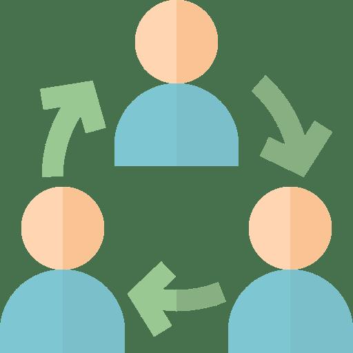 Servicio basado en la colaboración